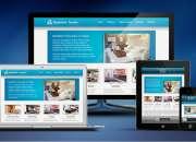Diseño y desarrollo de páginas web, mantenimiento web