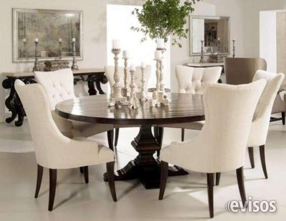 elegante juego de comedor de sillas con diseo unico