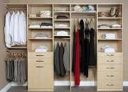 Closets organizer fabricados en modulos