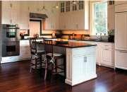 Hermosa cocina diseñada en modulos