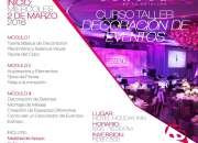 Curso taller decoracion de eventos
