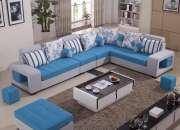 Hermoso y elegante muebles tipo l
