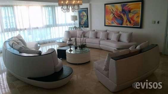 Hermoso sofa seccional curvo, blanco en Santo Domingo - Muebles | 135077