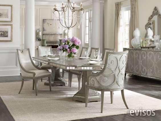 Oferrtaaa !!!elegante comedor moderno con sillas tapizadas en Santo ...