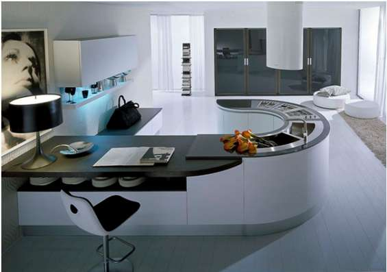 Cocina contemporánea con diseños exclusivos en Santo Domingo ...