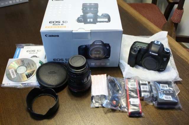 Canon eos-5d mark iii cámara digital slr cuerpo