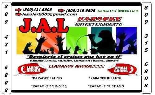 Aaaalquiler de karaoke, dj y musica