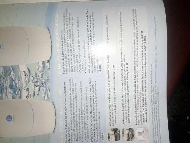 Fotos de Filtro purificador de agua 2
