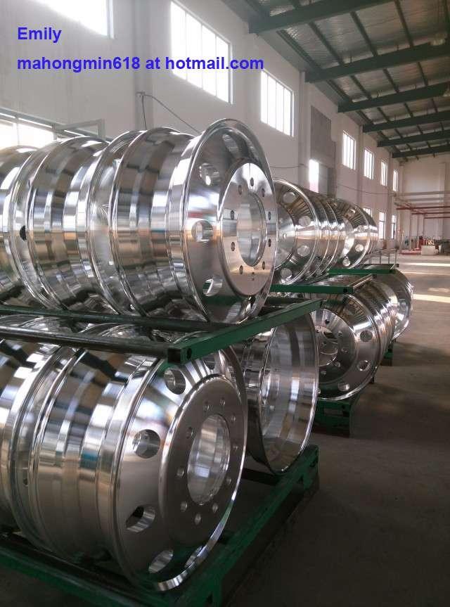 Llantas/ruedas de aluminio para camiones, remolques y autobuses