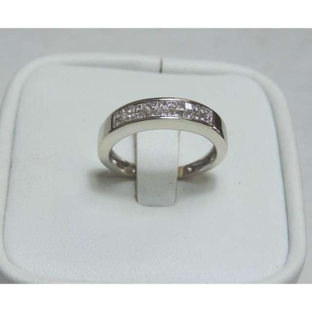 Vendo anillo oro blanco 14k