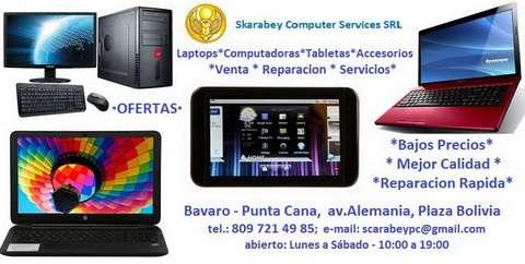 Venta de computadoras y laptops en republica dominicana