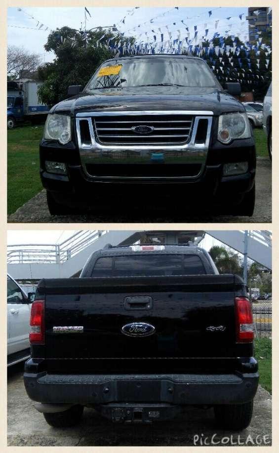 Ford sport trac, año 2009, 4x4, recien importado, mas inf llamar al 1-809-696-3776