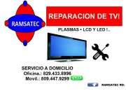 REPARACION DE TV PLASMA A DOMICILIO!