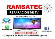 REPARACIÓN DE TELEVISORES PLASMAS, LCD Y LED. SERVICIO A DOMICILIO!