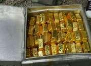 Venta oro  baras de 22 quilates mas