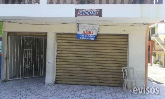 Alquiler de local comercial av. iberoamericana no.66