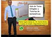 SALA DE TAREA BILINGUES Y TUTORIAS DE MATEMATICAS
