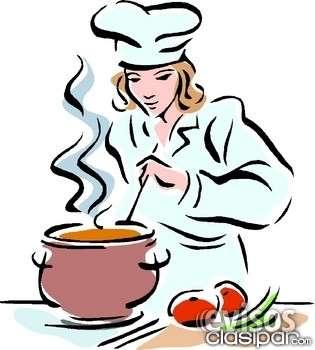 Se solicita cocinera con experiencia