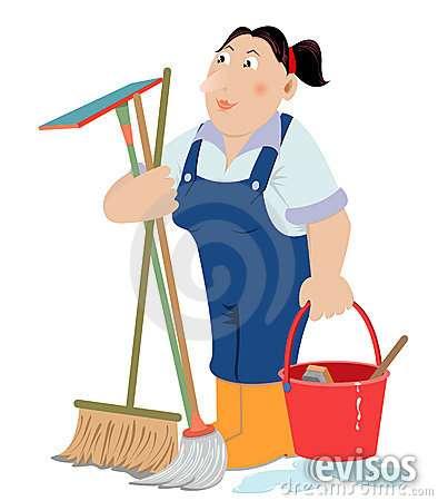 Se solicita persona para limpiar y lavar