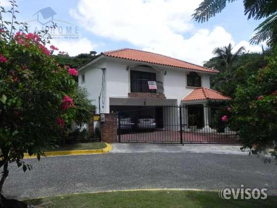 Altos de arroyo hondo iii, impresionante casa venta id 1753