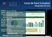 Curso de excel online en república dominicana