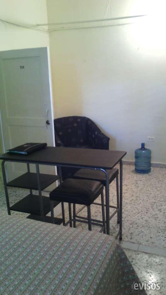 Alquiler apartamentos estudios amueblados en gazcue, sto dgo, rd