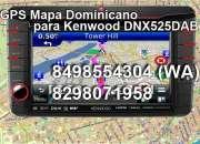 Mapa dominicano actualizado para gps stereo dnx52…