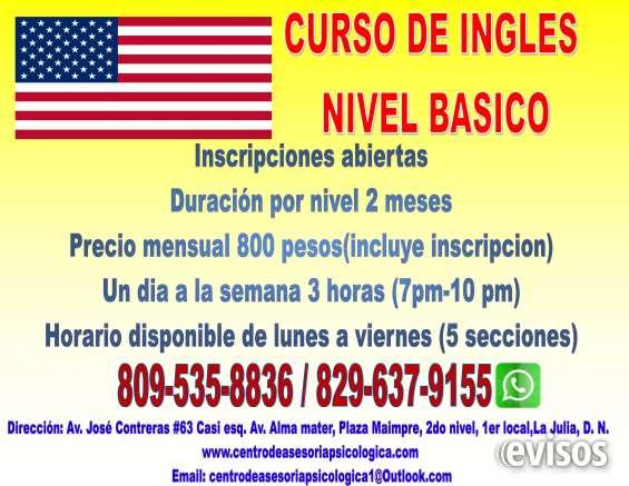 Cursos de ingles / english