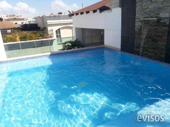 Bella vista apto amueblado con piscina 1 hab