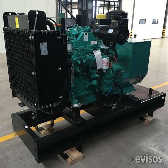 Vendemos planta electrica abierta 60 kw, con 24 meses de garantia precios de fabrica!