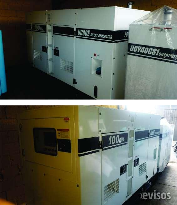 Vendemos plantas electricas cummins nuevas a precios de fabrica 80 kw