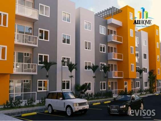 Apartamentos de 3 habitaciones en km 13 1/2 autopista duarte