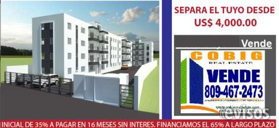 Apartamento en venta proximo al homs santiago