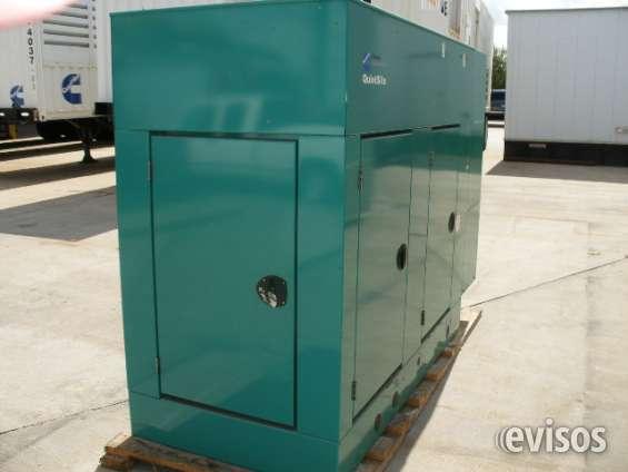 Vendemos planta electrica 40kw usada