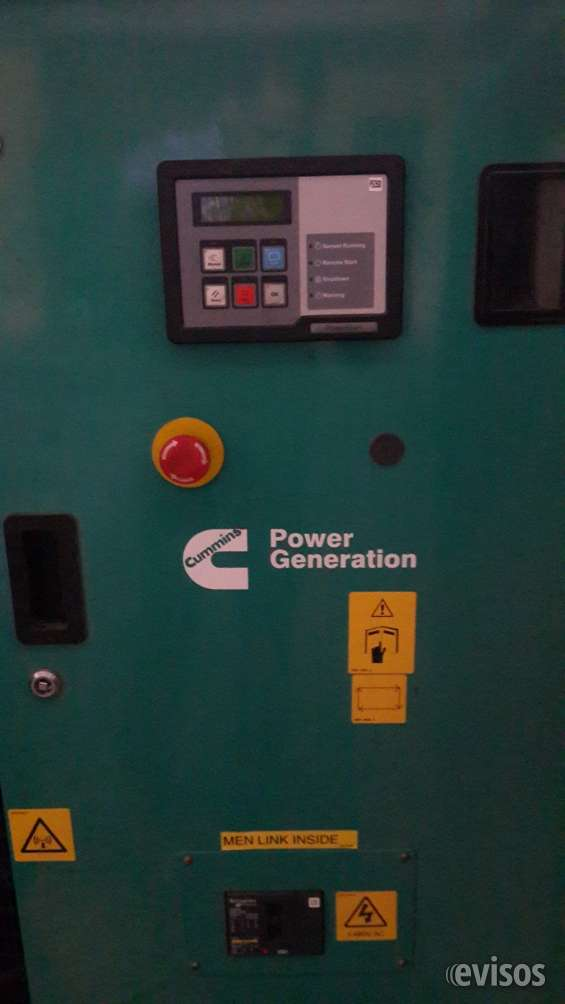 Vendemos planta electrica 60kw usada