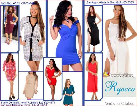 Venda ropas colombianas por catálogo
