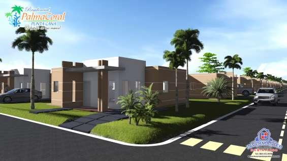 Casa (3)habitaciones en punta cana