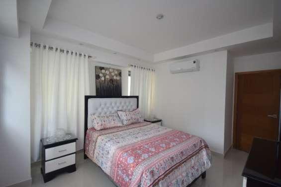 Apartamento amueblado de un dormitorio en bella vista