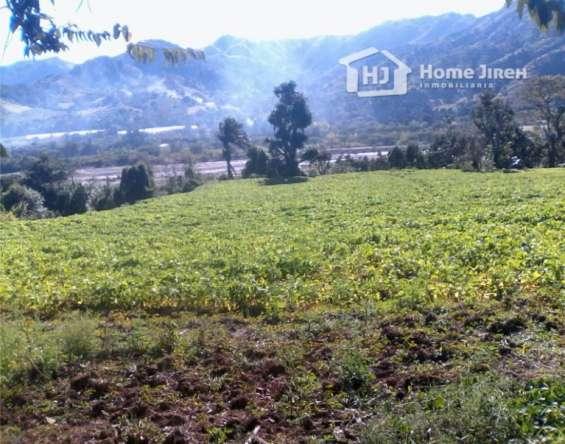 Terreno/tierras san josé de ocoa