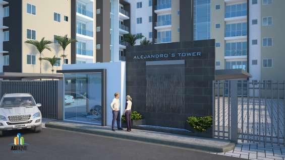 Lujosa torre de apartamentos en construcción en calle chantini, santiago de los caballeros