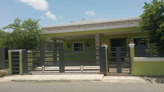 Vendo casa nueva en carretera tamboril santiago