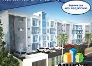 Apartamentos en Gurabo Santiago de 1 habitacion