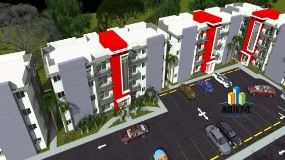 Apartamentos en plano próximo al aeropuerto cibao, santiago.