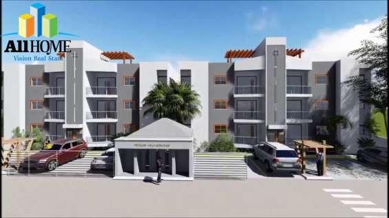 Hermosos apartamentos en villa gonzalez, santiago