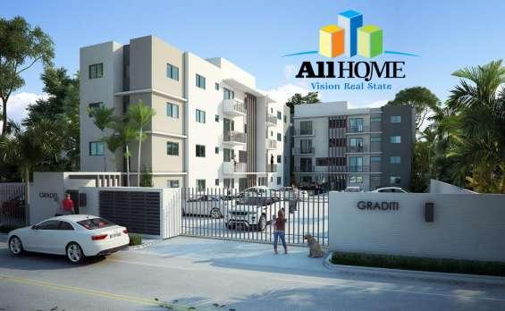 Hermosos apartamentos listos en gurabo, santiago