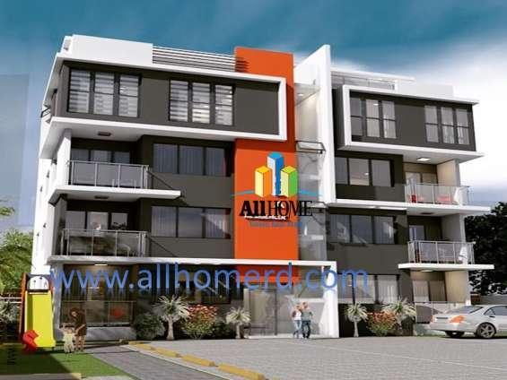 Lujosos apartamentos en reparto consuelo, santiago