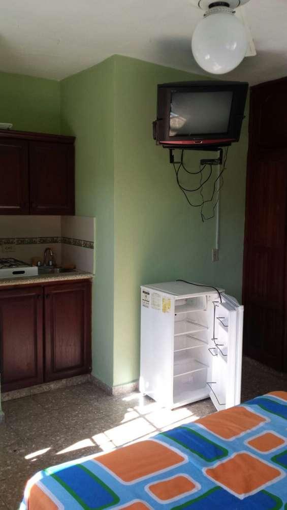 Apartamento estudio amueblado en alquiler, zona colonial, santo domingo, gazcue, gascue