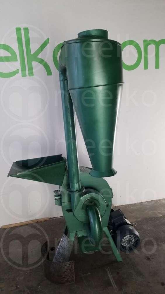 Meelko molino triturador de biomasa a martillo electrico 360 kg - mkh198b
