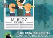 Diseñamos tu blog periodístico o de escritor