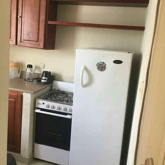 Apartamento amueblado en renta, gascue, 1 habitacion, aire, inernet